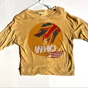 Forever 21 The Who Comfy Long Sleeve Size S
